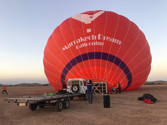 Marrakech Dream Ballooning