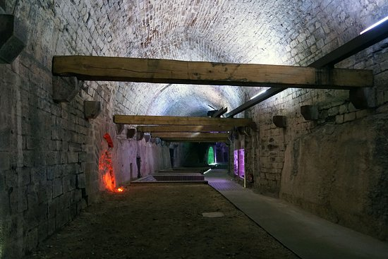 Belfort Citadel & The Lion of Belfort: Grand souterrain - 2