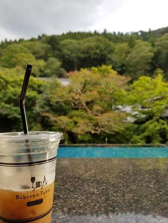 Bakery & Table Tofuya: カウンターから見える景色