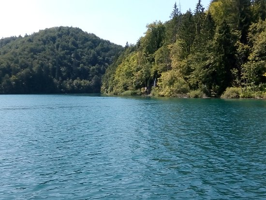 Plitvice Lakes National Park: View over the entry lake