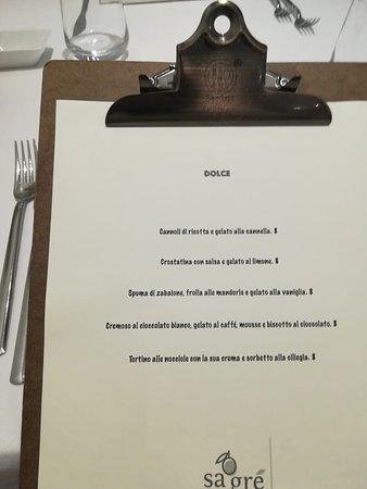 Valokuva: Sagré ristorante