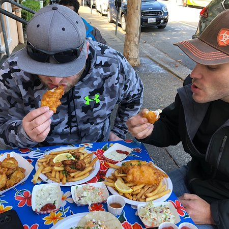 Fish and Chips Sausalito Picture