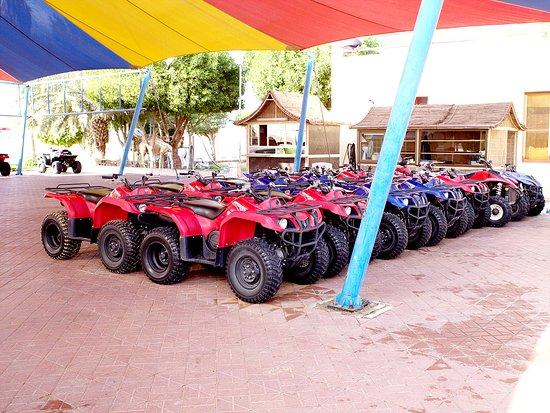 Dream Journey: Quad bike stop in Lahbab motor sport shop