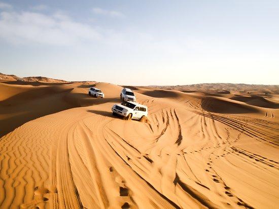 Dream Journey: Dune bashing on top desert hiills