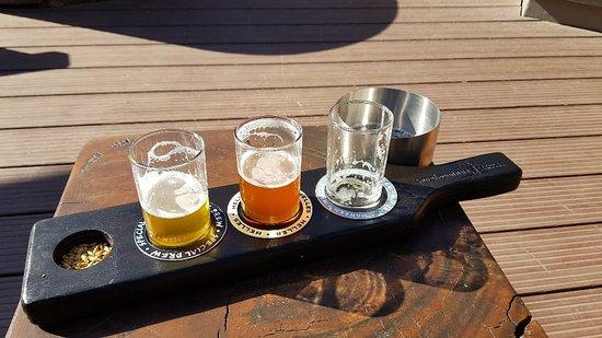 Brewer & Butcher: Beer tasting