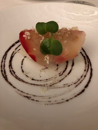 L'Arpege: veggie sushi
