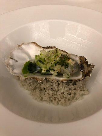 L'Arpege: oyster