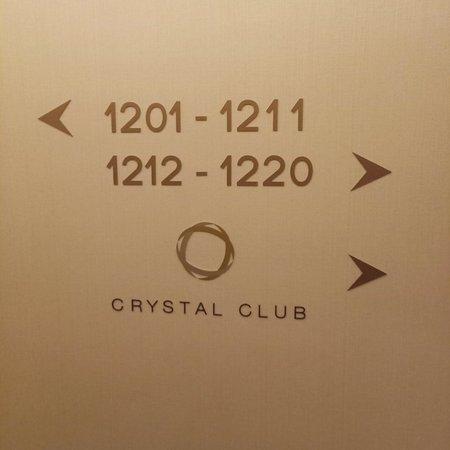 Good service at Crystal Club Lounge