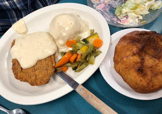 Salina, Utah: Chicken Fried Steak