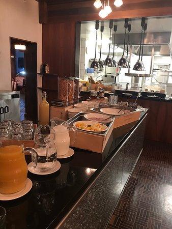 Beckenried, Zwitserland: Breakfast