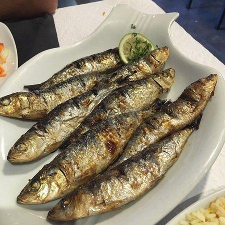 Apulia, Portugal: Parfait les sardines grillées !