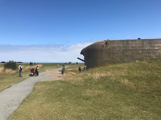 Longues-sur-Mer, Frankreich: Gun Battery Side View