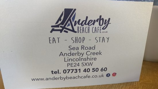 Anderby Creek, UK: It's the little things that make a difference.