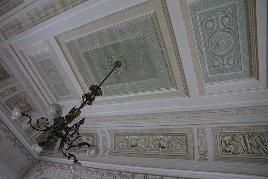 Stra, Italy: Particolare di un soffitto