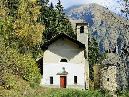 Riva Valdobbia, Italy: Val Vogna: Chiesa della Madonna delle Pose