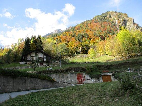 Riva Valdobbia, Italie: Val Vogna: Panorama
