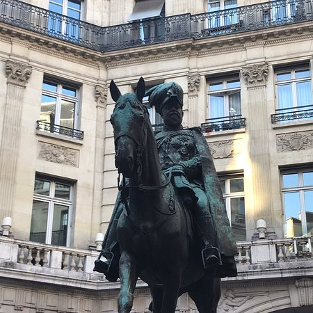 Bilde fra La statue d'Edouard VII