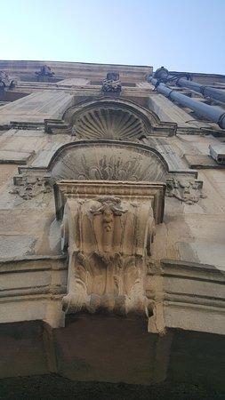 La façade d'une maison de la Grand'Rue