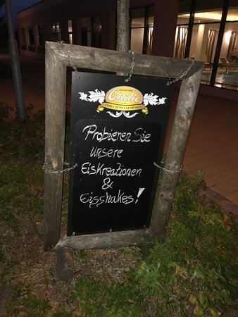 Borgerende-Rethwisch, เยอรมนี: outside sign