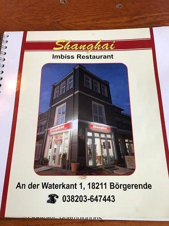 Borgerende-Rethwisch, เยอรมนี: Menu