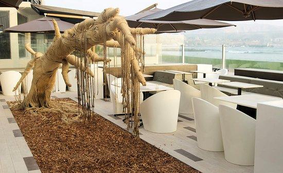 D'Tinto & Bife: La terraza esta preparada para el relax
