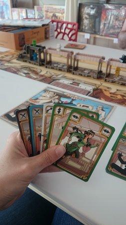 Saint-Gilles-Croix-de-Vie, ฝรั่งเศส: Colt express, un jeu fun avec beaucoup de mémoires