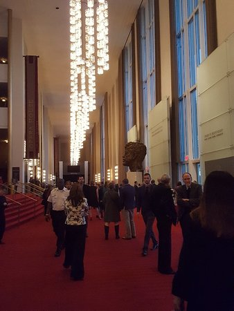 John F. Kennedy Center for the Performing Arts: Opera house enterance