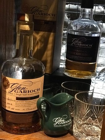 Glen Garioch Distillery: Whisky paired lunch - photos of food weren't allowed....