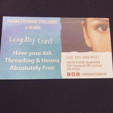 Karma Eyebrow Threading And Henna