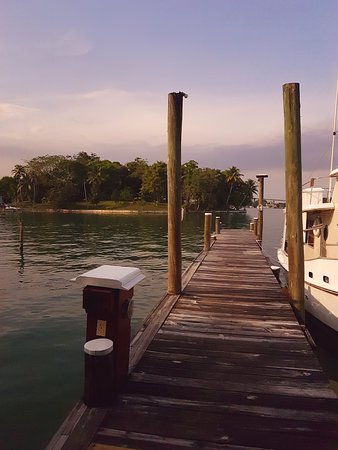Rio Dulce, Guatemala: One of the docks at Tortugal