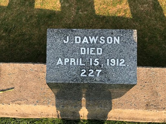 Fairview Lawn Cemetery: Joseph Dawson.....not Jack