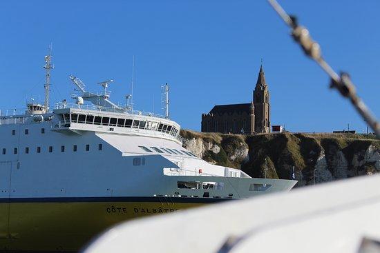 Navigation Normande - Dieppe : le ferrie