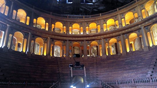 Teatro Farnese: view from the stage