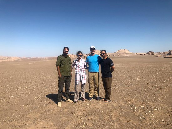 Shahdad, Iran: Arman + us