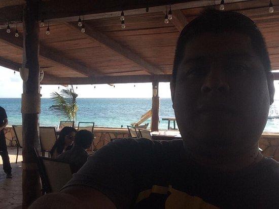 Hotel Hacienda Morelos: Comiendo en el restaurant del hotel