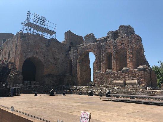 Teatro Antico di Taormina: stage