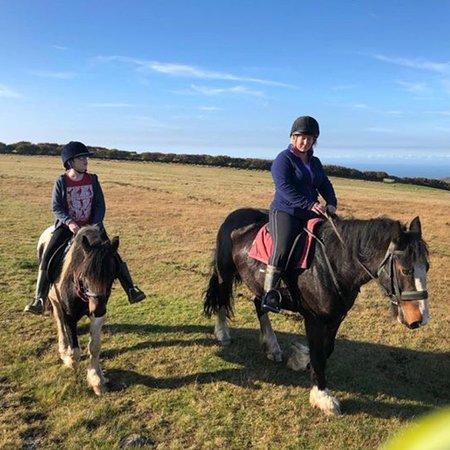 Riding over Exmoor: photo1.jpg