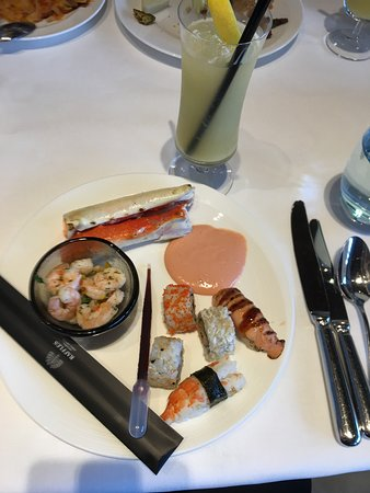 Alaskan King Crab + Sushi / Sea Food