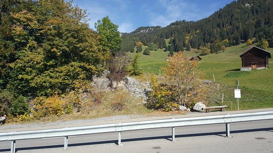 Ski Resort Malbun: The Road from Vaduz to Malbun goes through pristine country side