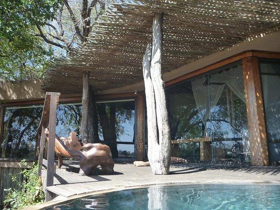 Singita Private Game Reserve, Afrika Selatan: Wall of Windows