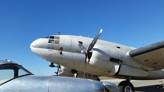 Commemorative Air Force Southern California Wing Museum: Air Corps Transport Plane