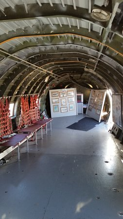 Commemorative Air Force Southern California Wing Museum: Transport Plane interior.