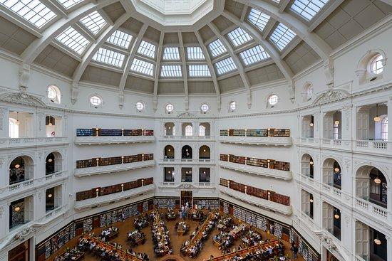 ห้องสมุดรัฐวิคตอเรีย