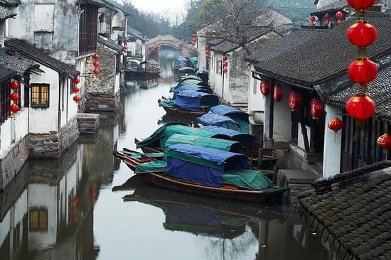 Suzhou and Zhouzhuang Water Village Day...