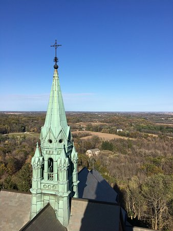 Hubertus, WI: Scenic view from the tower