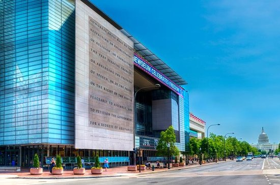 Entrada a Washington D. C. Newseum