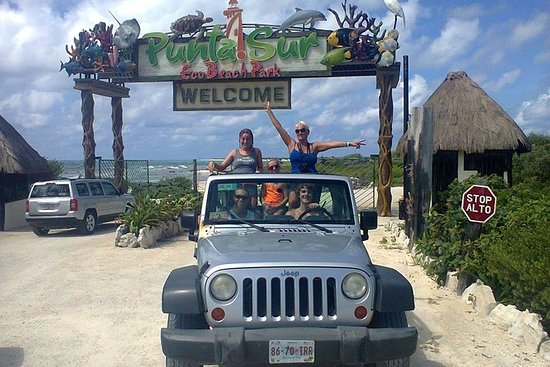 Private Jeep Excursion in Cozumel...