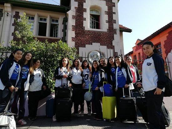 Saludos desde Hostel de'l Tata en Providencia, Santiago de Chile 🇨🇱 (a pasos de estación de me