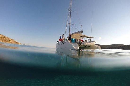 Mykonos Catamaran Sailing Tour