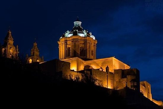 Valletta, Mosta og Mdina Night Tour